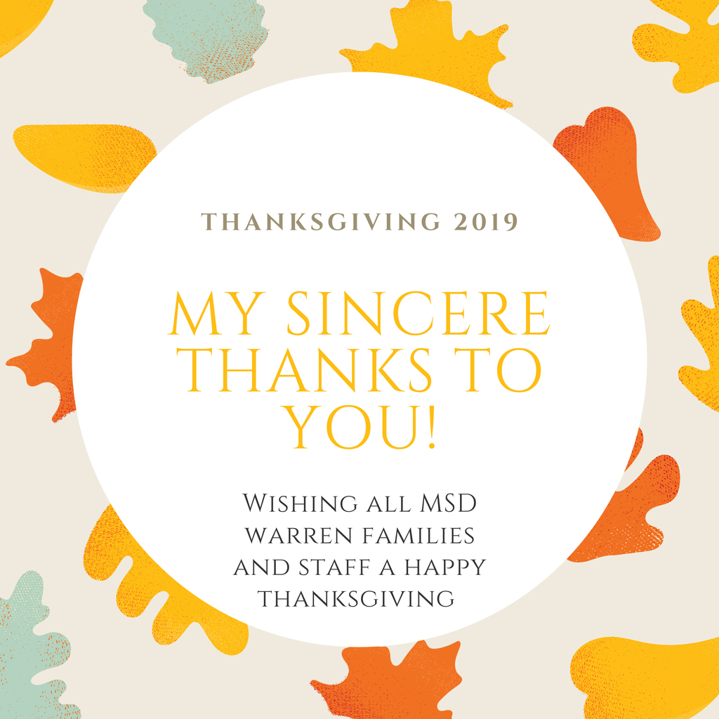 Thanksgiving Message