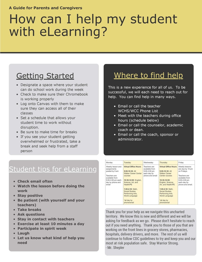 eLearning Guidance page 1