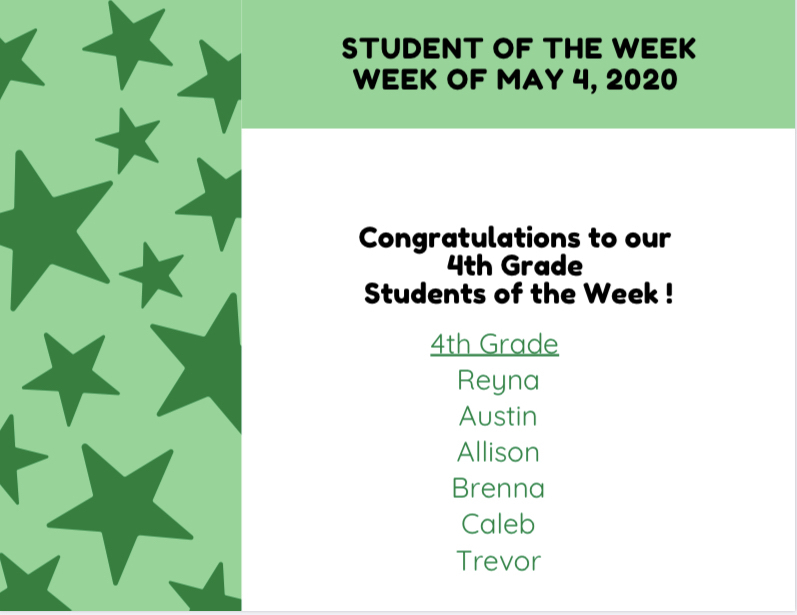 Student of the Week