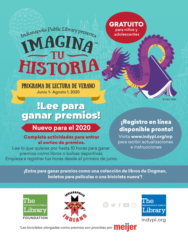 Summer Reading Flyer - Spanish