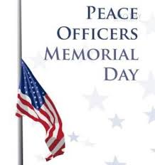 Peace Officers Memorial Day Graphic