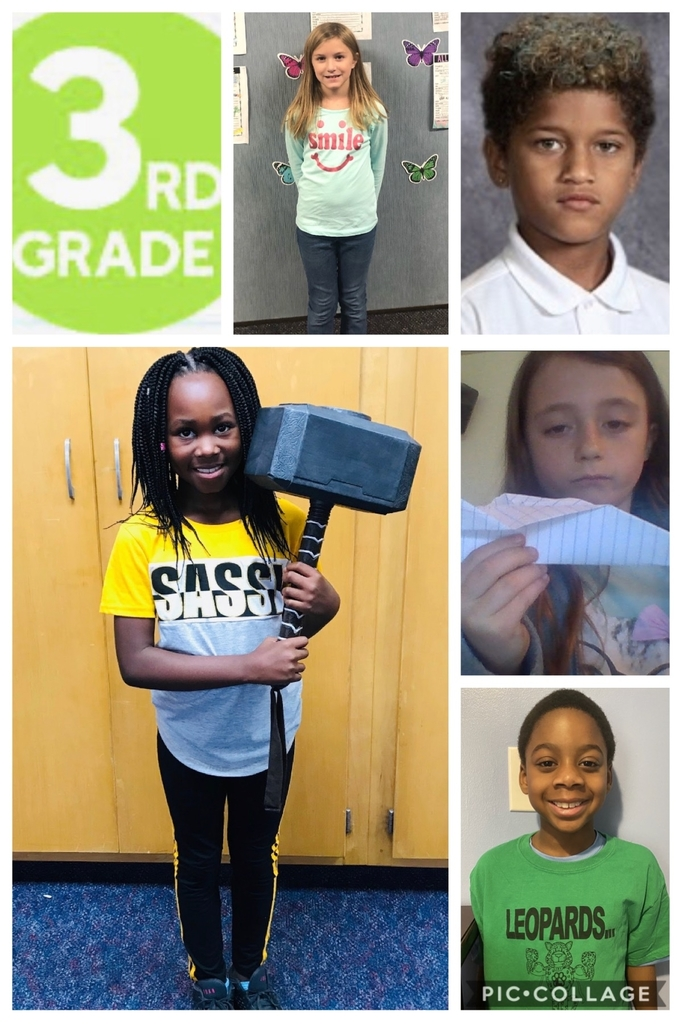 3rd Grade Students of the Week