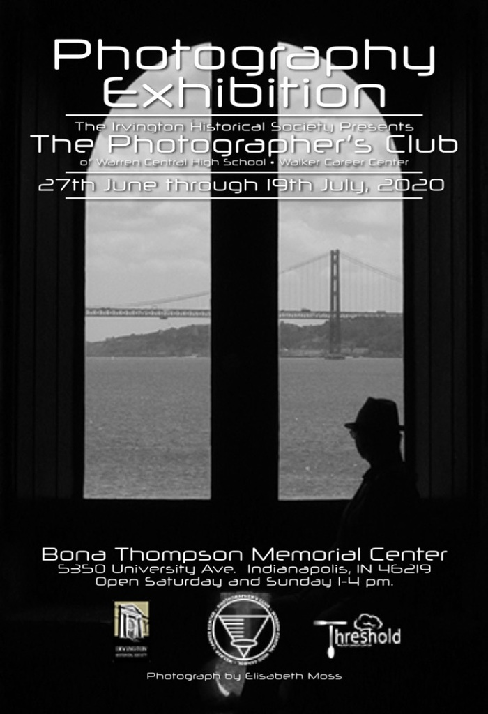 Photography Club Bona Thompson flyer