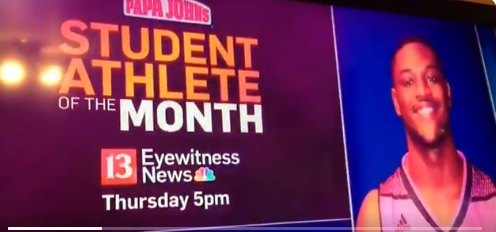 David Bell, Student Athlete of the Month